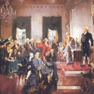 The Constitutional Convention Begins in Philadelphia on May 25th and Ends on Sept 17th with the Miracle of the Constitution