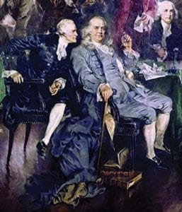 Benjamin Franklin's Appeal to Prayer During Constitutional Convention