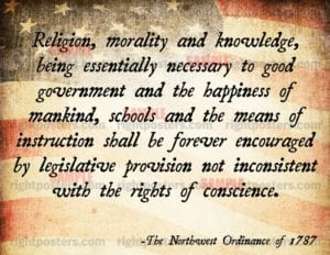 The Northwest Ordinance is Passed by Continental Congress