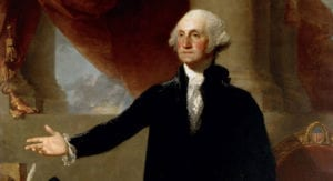 General George Washington Elected as the First President of the United States