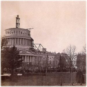 President Washington Laid the Cornerstone for the U.S. Capitol Building which was First Used as a Church