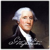 """George Washington: """"It (is)... little short of a miracle, that the delegates from so many different states should unite in forming a system of national Government"""""""