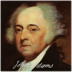 """John Adams: """"We have no Government armed with Power capable of contending with human Passions unbridled by morality and Religion..."""""""