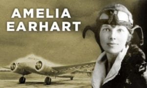 Amelia Earhart Disappears Somewhere in the South Pacific on a Round-the-World Flight... on a Government Errand?