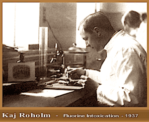 Kaj Roholm Published his Seminal Study 'Fluorine Intoxication' in which He Described Three Phases of Bone Changes that Occur in skeletal Fluorosis