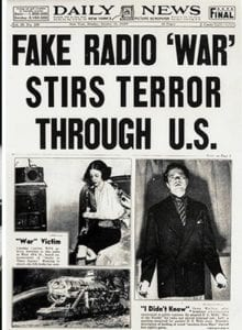 Rockefeller Foundation Psyop Broadcast of WAR OF THE WORLDS Creates 'Accidental' Hysteria Throughout the U.S.