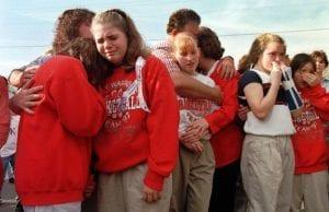 The Westside Middle School Shootings in Jonesboro, Arkansas by 2 kids on Ritalin Killing 5 & Wounding 10 More