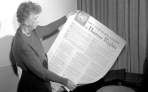 On the 50th Anniversary of the Universal Declaration of Human Rights, Clinton signed an EO that Monitors and Enforces UN Mandated Human Rights Regulations