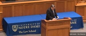 AG Bill Barr Flames 'Unremitting Assault' On Religion, Traditional Values During Notre Dame Visit
