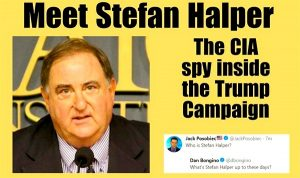 SpyGate Begins: Obama Awarded Stefan Halper As A Government Contractor At Start Of Primaries... To Spy on Trump Campaign?