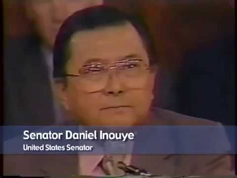 """In the Iran-Contra Hearings Closing Statement, Senator Inouye Testifies of a """"Shadowy Government with its own AF, its own Navy… Free from the Law Itself."""""""