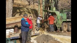 Drilling begins on The Garlock Project – Drilling for Primary Water in the Tehachapi's