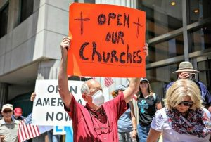 Churches Across U.S. File Lawsuits Against Democrat Governors