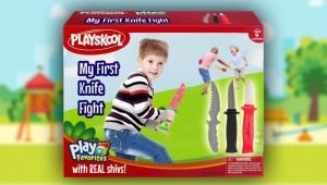 Playskool Releases 'My First Knife Fight' Playset