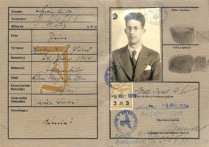The Third Reich Passes New Law for Special Identity Cards for Jewish Germans